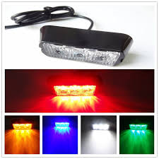 security led lights car high power 12v 3 led waterproof car truck emergency strobe flash