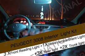 Interior Car Led Light Kits Aliexpress Com Buy 9x Error Free Car Led Light For Peugeot 3008