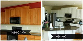 painted cabinets before and after nett painting kitchen countertops before and after cabinets 11157