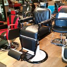 furniture used salon equipment with colorful barber chairs for