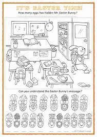 find the easter eggs worksheet free esl printable worksheets