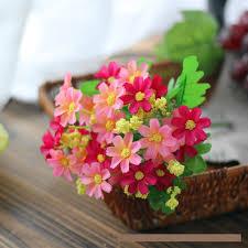 Artificial Flowers Cheap Aliexpress Com Buy 7 Heads Pcs Aquatic Plants Decoration Small