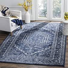 Navy Area Rug Safavieh Adirondack Collection Adr108n Navy And Ivory