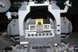 Lunar Module Interior Lego Ideas Apollo Ships
