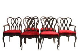 French Provincial Dining Room Furniture Vintage U0026 Used French Provincial Dining Chairs Chairish