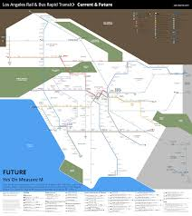 Los Angeles Metrolink Map by Watch Metro Rail Grow Under Measure M Urbanize La