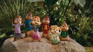 Alvin And The Chipmunks Christmas Ornament - bad romance alvin and the chipmunks chipwrecked video