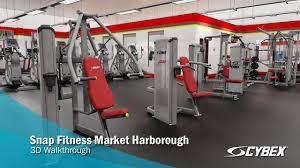 3d gym walkthrough snap fitness market harborough cybex youtube