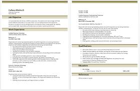 Resume Example Uk by Vet Tech Resume Jvwithmenow Com