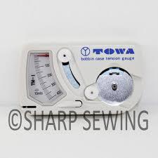towa bobbin case tension gauge ebay