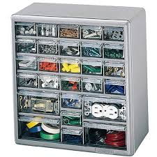 Parts Cabinets Storage Cabinets Akro Mils 10726 26 Drawer Small Parts Cabinet
