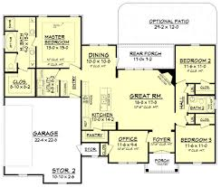 floor plans 3 bedroom 2 bath craftsman style house plan 3 beds 2 00 baths 1769 sq ft plan 430 99