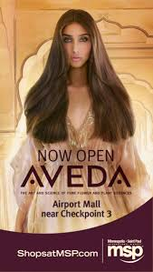 aveda now open in the airport mall my msp connect