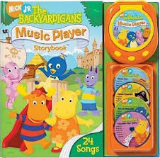backyardigans music player storybook christine ricci