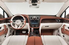 white bentley interior bentley bentayga dashboard press shots indian autos blog
