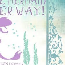 mermaid baby shower invitations mermaid baby shower invitation summer baby shower invites
