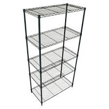 Wire Shelving Desk Adjustable 5 Tier Wire Shelving Unit Black Room Essentials