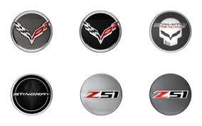 stingray corvette logo logo center caps for factory c7 corvette stingray wheels pfyc