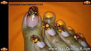 halloween toe nail art toe nail designs u0026 nail art pinterest