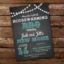 teal chalkboard housewarming bbq invitation u2013 sunshine parties