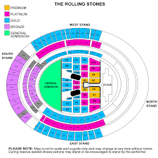 Petco Park Map The Rolling Stones Zip Code Tour 2015