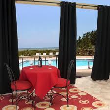 Sunbrella Outdoor Shower Curtains by Sunbrella Outdoor Curtain With Grommets By Hatteras Outdoors 50