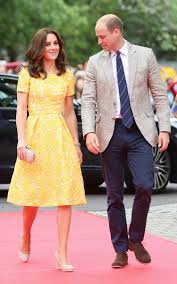 kate middleton dresses kate middleton wows in a yellow dress in germany plus see more