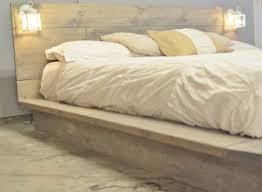 bed frame with lights light wood bed frame bed frame katalog 169159951cfc