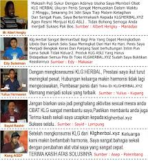 testimoni klg tablet herbal original klg herbal
