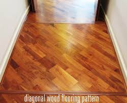 diagonal wood floor pattern duck house wood floor