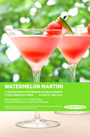 martini splash watermelon martini 1 part dekuyper watermelon pucker schnapps