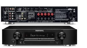 home theater receiver with blu ray player marantz nr1403 slim line av receiver youtube