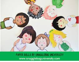 snugglebug university fairy tale paper dolls and a free paper