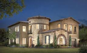 stone turret house plans large entry luxury home plan with