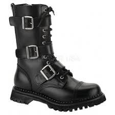 womens combat style boots size 12 mens boots and unisex boots for biker boots combat