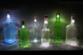 lights made out of wine bottles turn a wine bottle into a l with this led cork blackle mag
