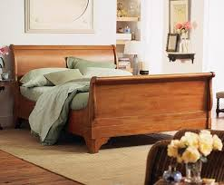 cherry sleigh bed chambord cherry sleigh bed charles p rogers beds direct