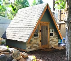 Small A Frame Cabins A Frame Playhouse Plan 8x8 Wood Plan For Kids U2013 Paul U0027s Playhouses
