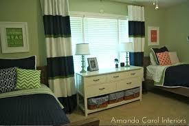 Navy And Green Curtains Navy And Green Curtains Navy Trim E Design Shared Room Navy