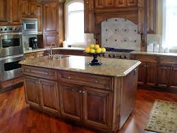 Custom Island Kitchen White Painting Cabinet With Beige Marble Top Custom Kitchen Island