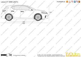 2011 lexus hatchback prices the blueprints com vector drawing lexus ct 200h