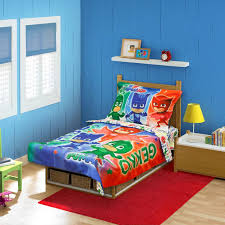 Toddler Comforter Pj Masks 4 Piece Toddler Bedding Set Toys