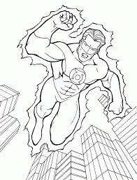 free coloring pages flash dc superhero widetheme
