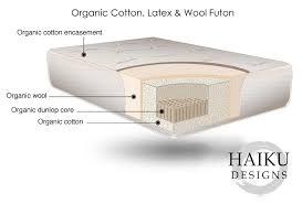 organic futon mattresses online organic futons haiku designs