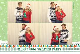 holiday party pink shutter photo booths photo booth rental