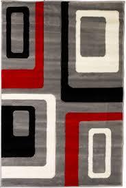 Orange Modern Rugs Modern Mid Century Rugs On Mid Century Modern 12871 Homedessign Com