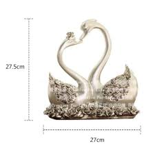 aliexpress com buy one pair home decor wedding gift swan couples