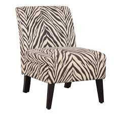 Slipper Armchair World Menagerie Geira Linen Zebra Slipper Chair U0026 Reviews Wayfair