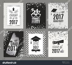 graduation party vector template invitation letter requesting