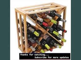 wine racks u0026 storage collection small wine racks wood youtube